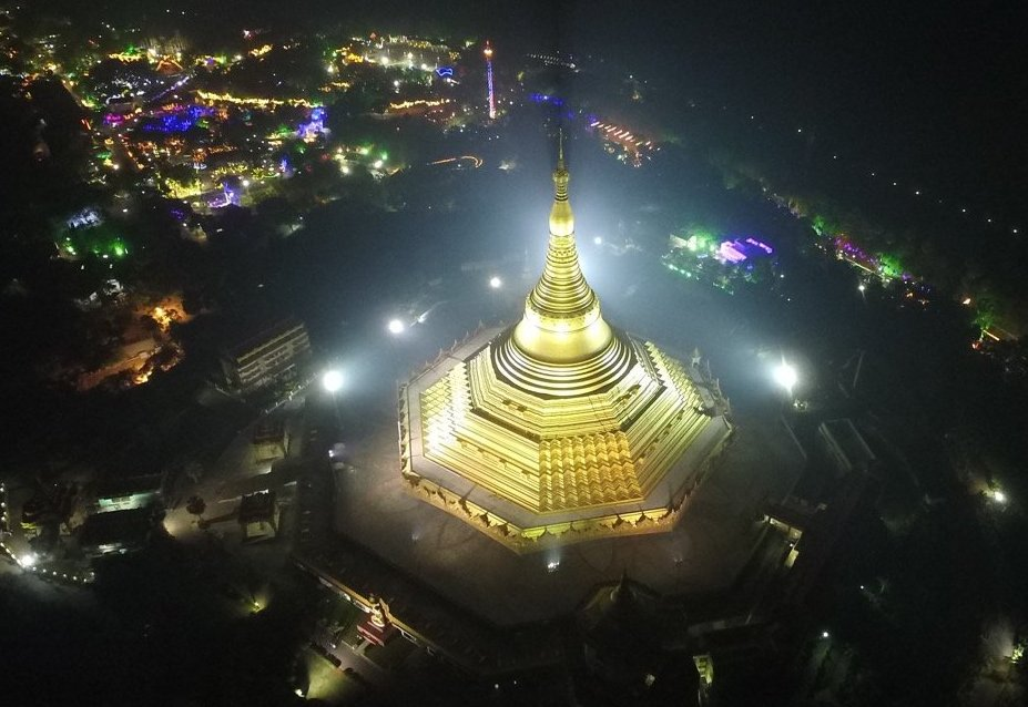 Global Vipassana Pagoda, Mumbai. Infinite Gratitude to all beings who preserved Vipassana in purity