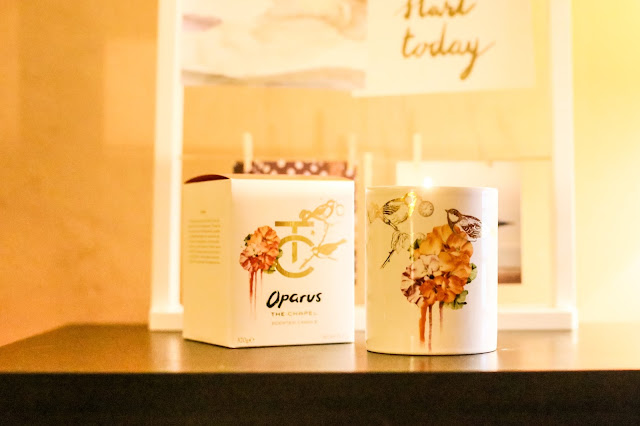 This Oparus candle from The Chapel smells heavenly and is the perfect companion to practising mindfulness and reflection at home. One of my top ways to make January more sparkly over on my blog, Mandy Charlton Photography.