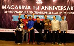 Meriahnya 1st Anniversary Macarina