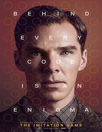Poster Of The Imitation Game 2014 Full Movie In Hindi Dubbed Download HD 100MB English Movie For Mobiles 3gp Mp4 HEVC Watch Online