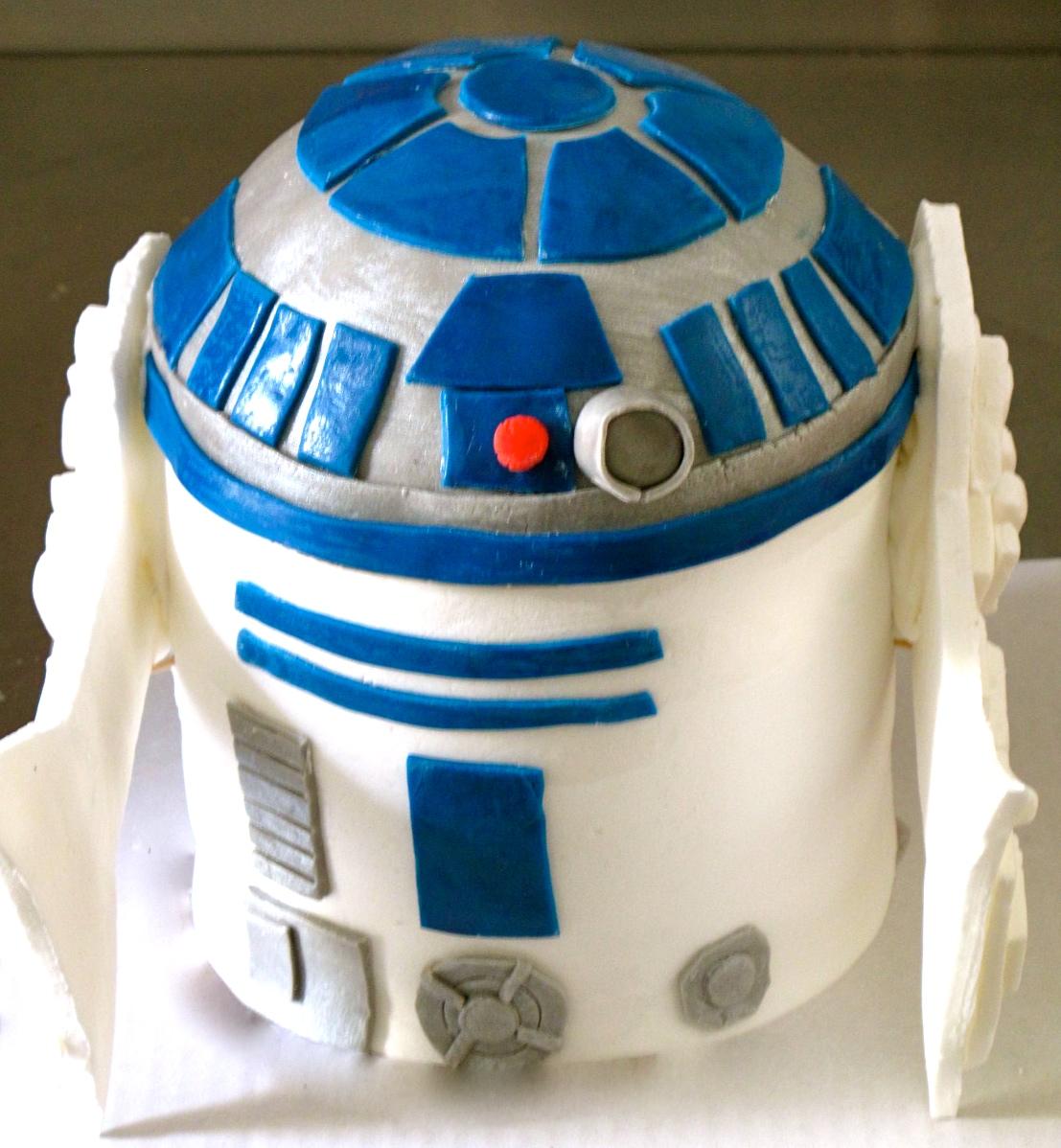 Torte4u R2d2 Star Wars Cake