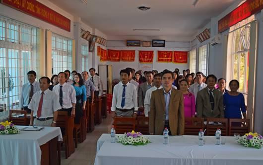 Thành lập Chi bộ Trung tâm Kiểm soát bệnh tật tỉnh Kon Tum