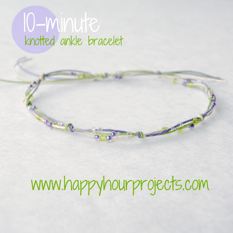 My Friend Maureen And I Were Discussing A Suede Bracelet Using This Same Technique Over At Own Road The Weekend Had To Check Out Jen S Post On