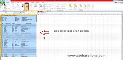 Mengatasi File Excel Tidak Sesuai Ukuran Kertas Saat Ngeprint