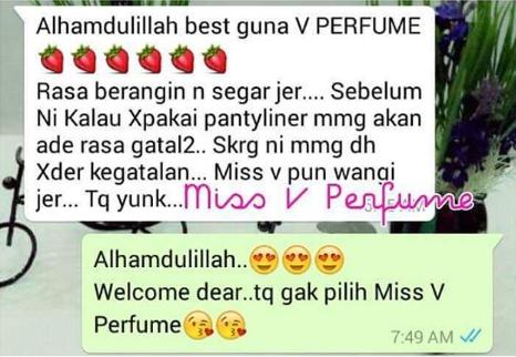 miss v perfume molly berkesan