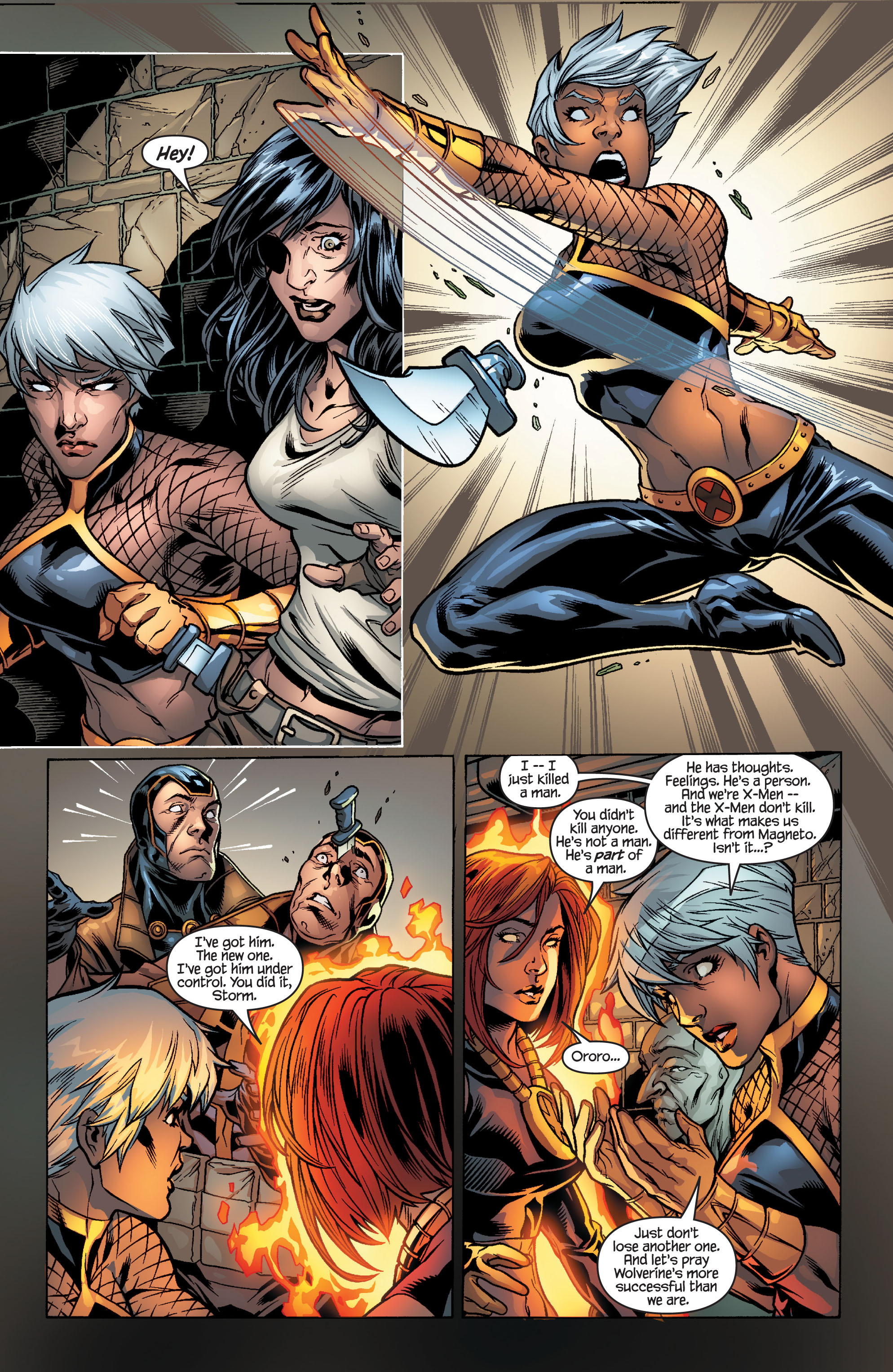 Read online Ultimate X-Men comic -  Issue #100 - 16