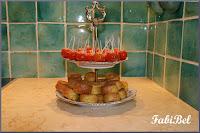apéro tomates cerises pommes d'amour et bouchées emmental curry