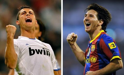Cristiano Ronaldo and Lionel Messi are 30 percent genius