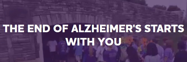 Alzheimer's Disease is an epidemic - join the Walk to End Alzheimer's to raise awareness or make a donation to help find a cure!