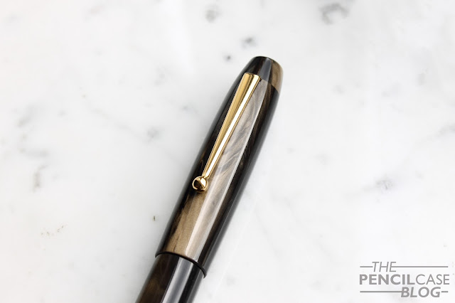 Re-Review: Edison Collier Fountain pen in the new Burnished Gold finish