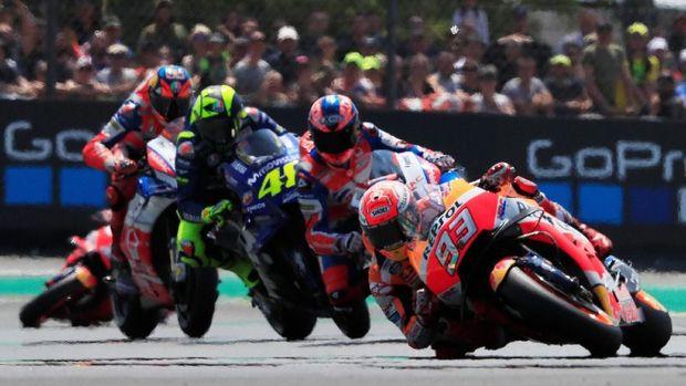 Berikut MotoGP Prancis Lorenzo Terdepan dan Valentino Rossi Kedua 2019