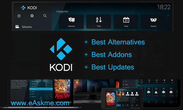 Kodi : Alternatives, Addons and Updates: eAskme