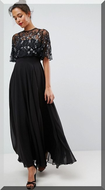 robe-noire-fêtes-asos-wishlist-blog-mode