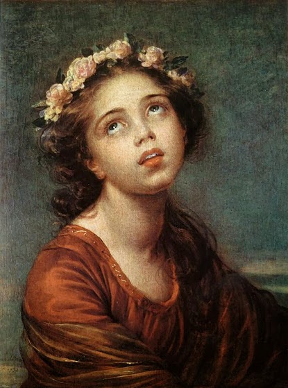 Elisabeth Vigée-Lebrun -The_Daughter's Portrait, Public Domain, via Wikimedia Commons