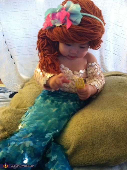 Try these 10 best Halloween costume for baby. DIY mermaid Halloween costume ideas for baby girl. Baby first Halloween costume ideas. Halloween costume ideas for 0-2 year old baby girl. DIY homemade mermaid costume for girl. Awesome and cute homemade baby Halloween costume ideas. Handmade Halloween costume ideas for baby. DIY Halloween costume for baby. DIY Baby Halloween costume ideas. Halloween costume for toddlers. Halloween costume for preschool.