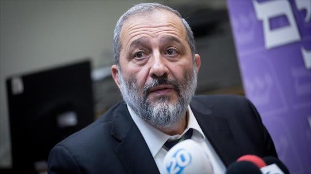 Policía israelí busca inculpar al ministro del interior por fraude