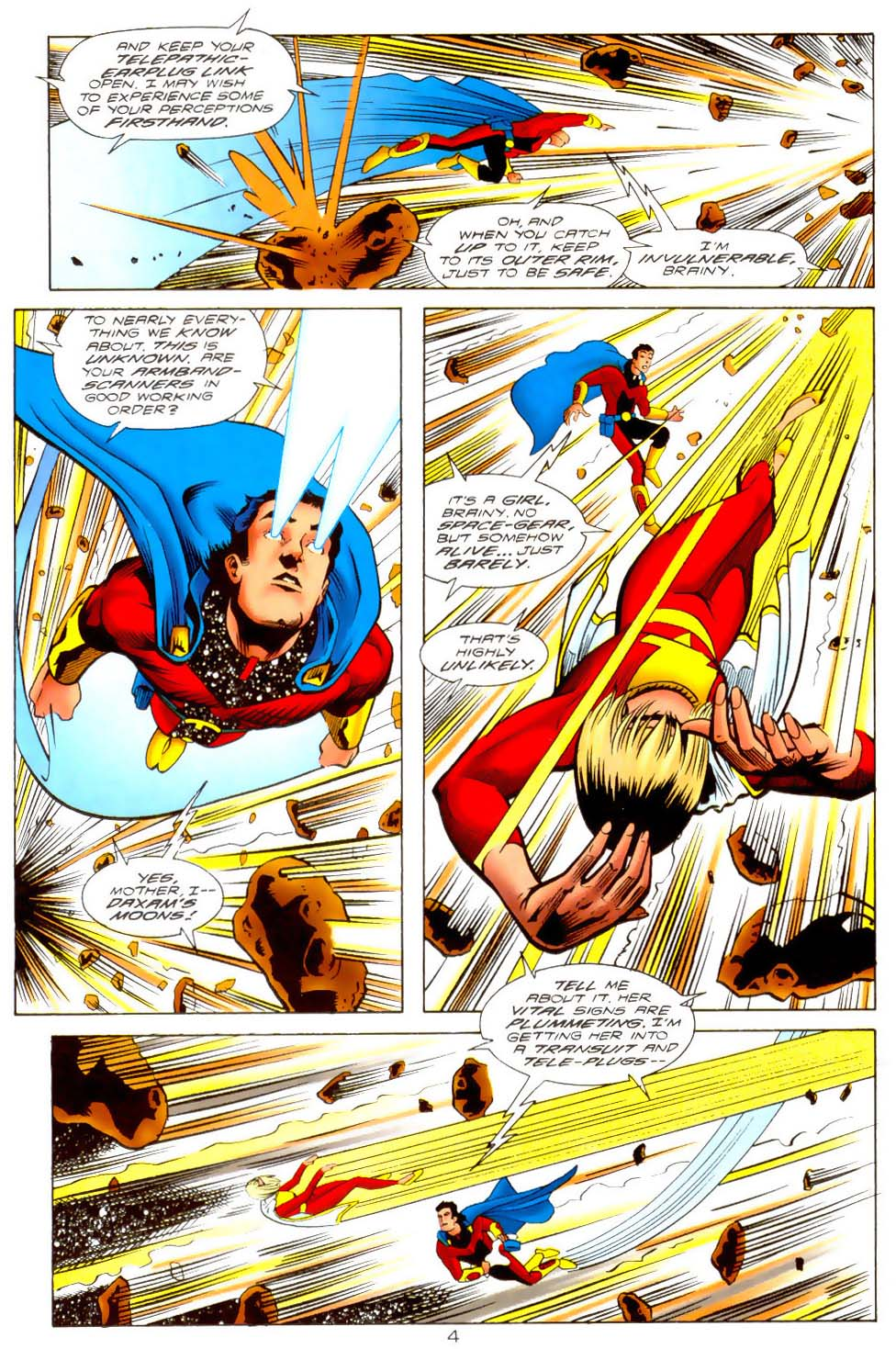 Legion of Super-Heroes (1989) 110 Page 4