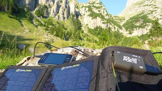 Charge Smartphone with Solar Charger