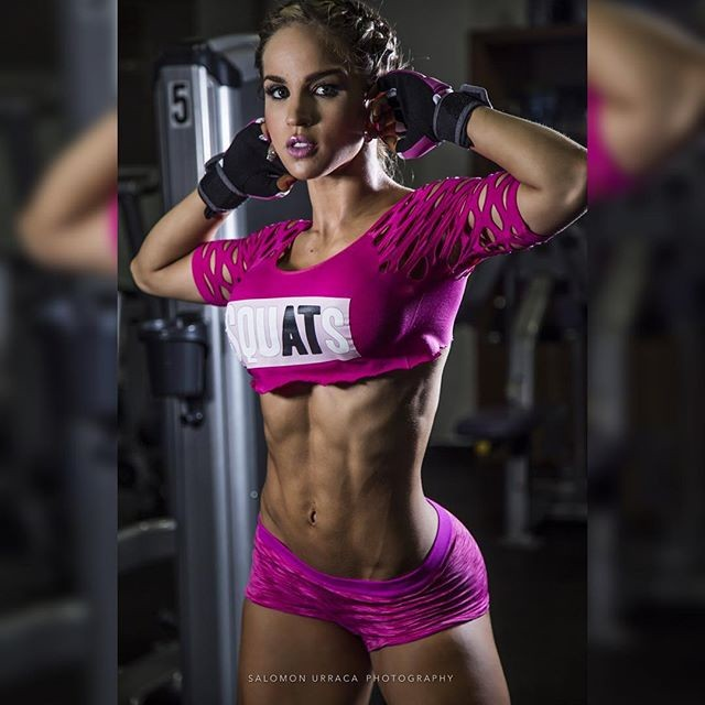 Fitness Model Michelle Medina photos