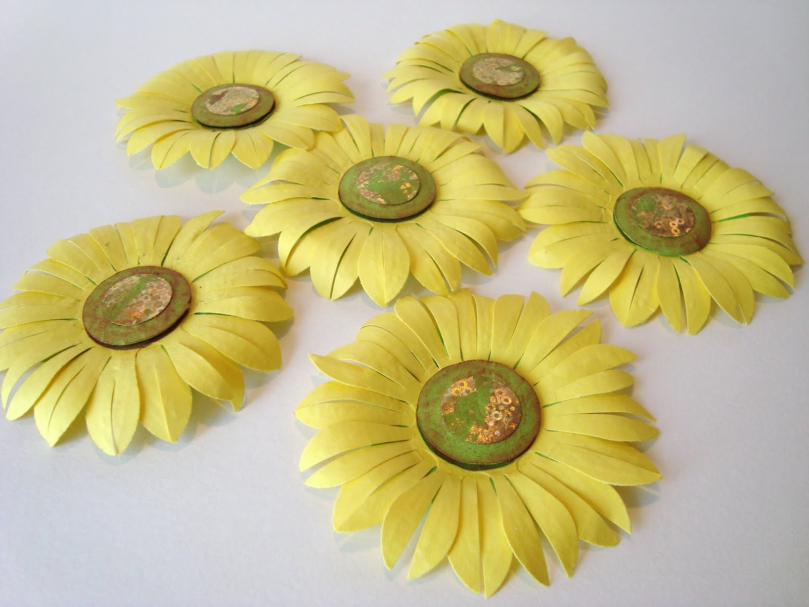 Handmade By Camelia Paper Flowers Small Cards And Other Handmade Stuff