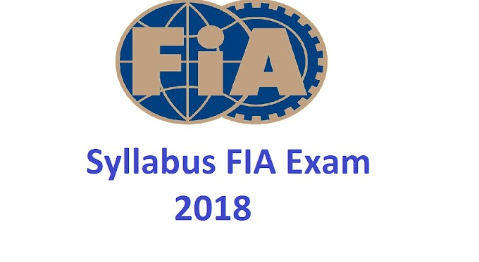 Syllabus of FIA Exam for the post of Assistant and Sub-Inspector