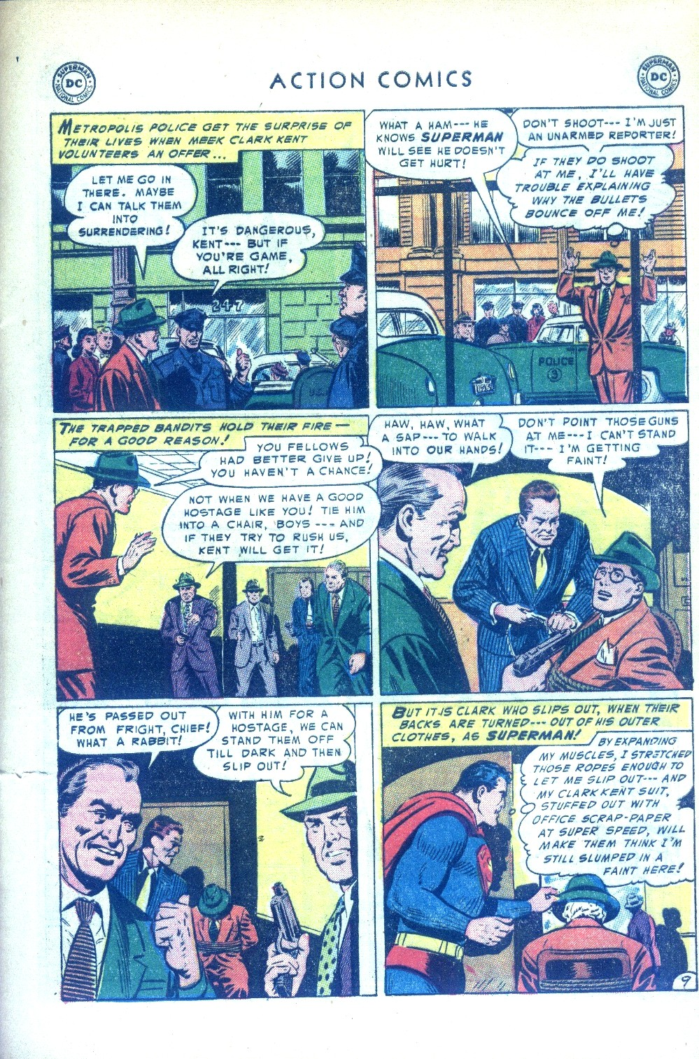 Read online Action Comics (1938) comic -  Issue #189 - 11