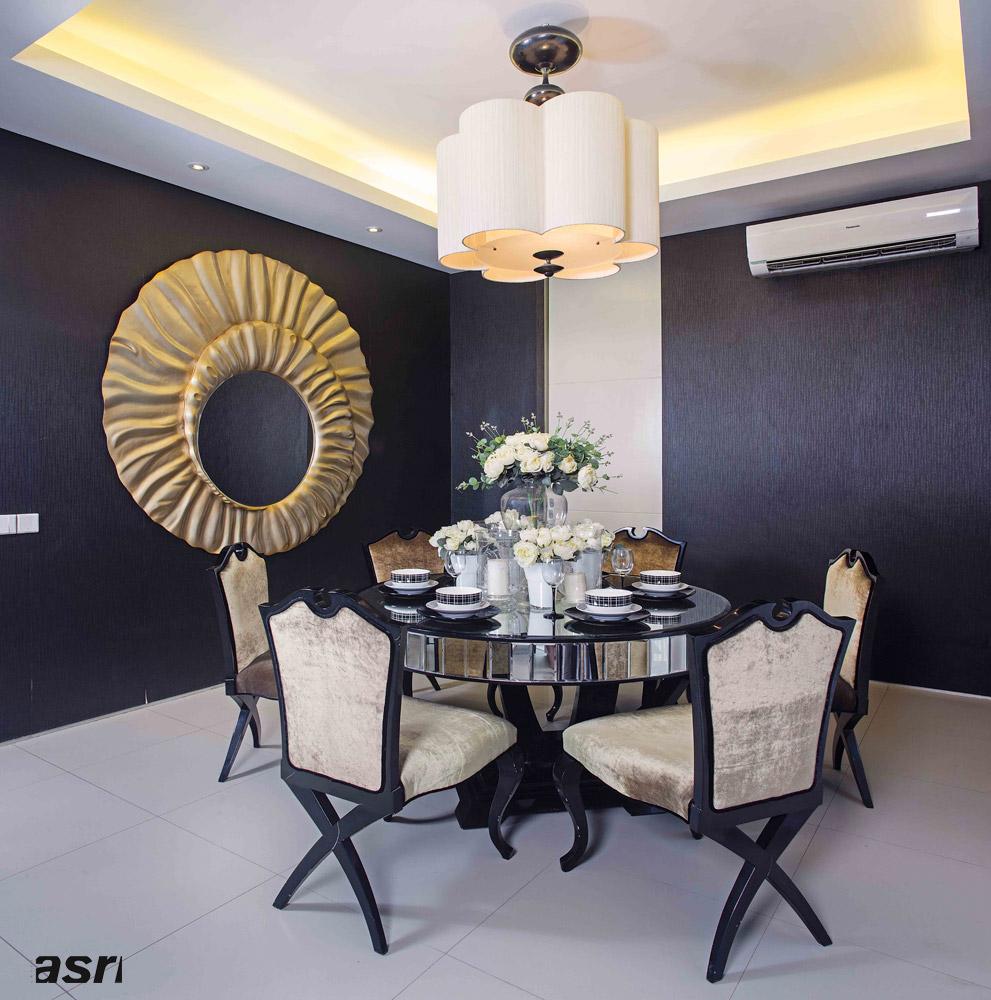 Dining Room Design Inspiration: 6 Design Inspiration Dining Room Black