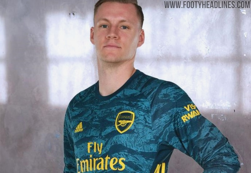 best loved 7a88c d8fcb Arsenal 19-20 Goalkeeper Home Kit Released - Footy Headlines