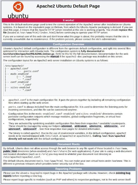 Cara install apache2, mysql, dan php di linux