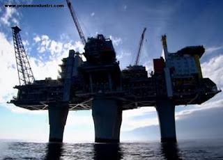 Sumur minyak produksi lepas pantai
