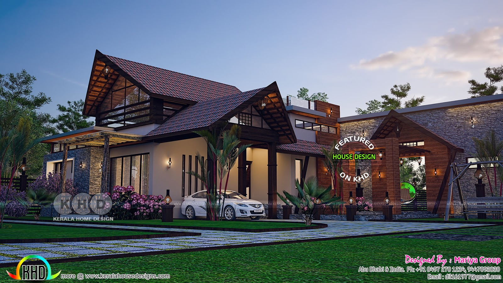 1342 sq-ft house built in a traditional way | Kerala home