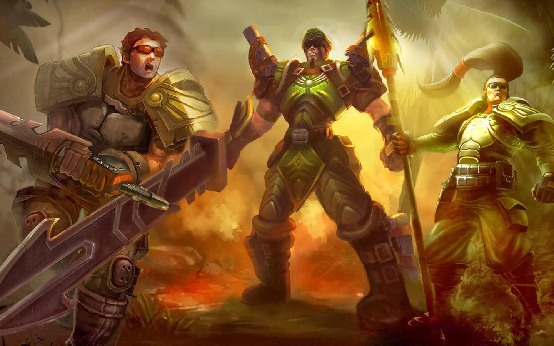 Garen League Of Legends Wallpaper Garen Desktop Wallpaper