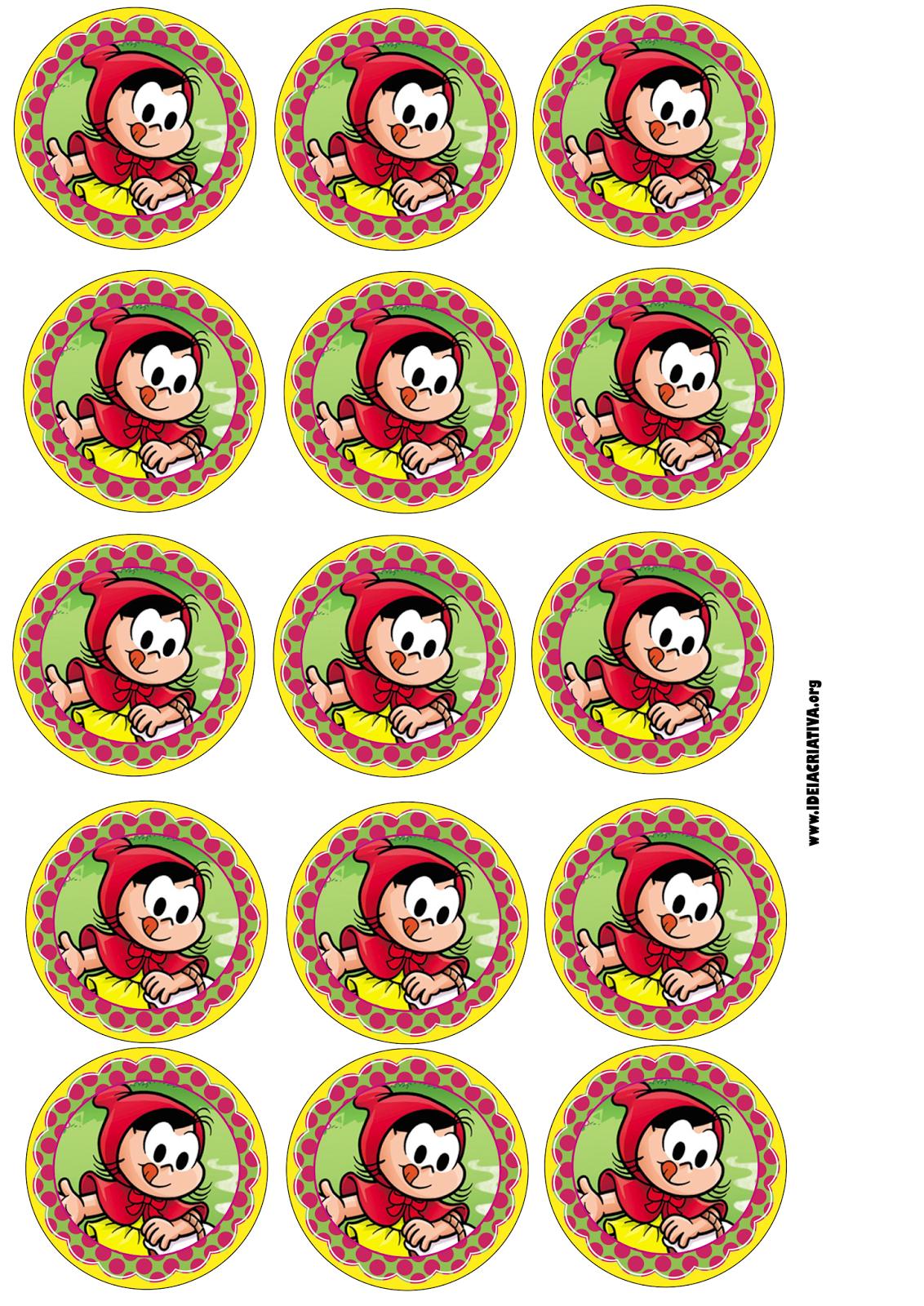 Pirulito Personalizado Chapeuzinho Vermelho Com Rotulo Para