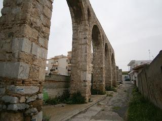 το ρωμαϊκό υδραγωγείο στη Χαλκίδα