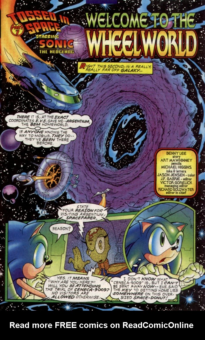 Read online Sonic The Hedgehog comic -  Issue #129 - 9