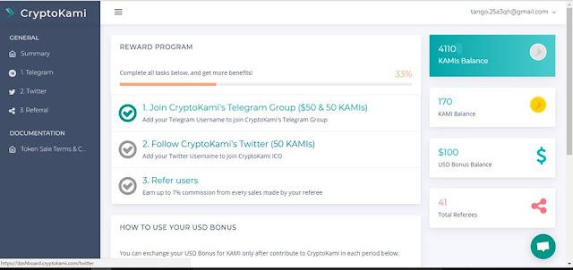 Nhận 50$ CryptoKami và 50 KAMIs đợt 2