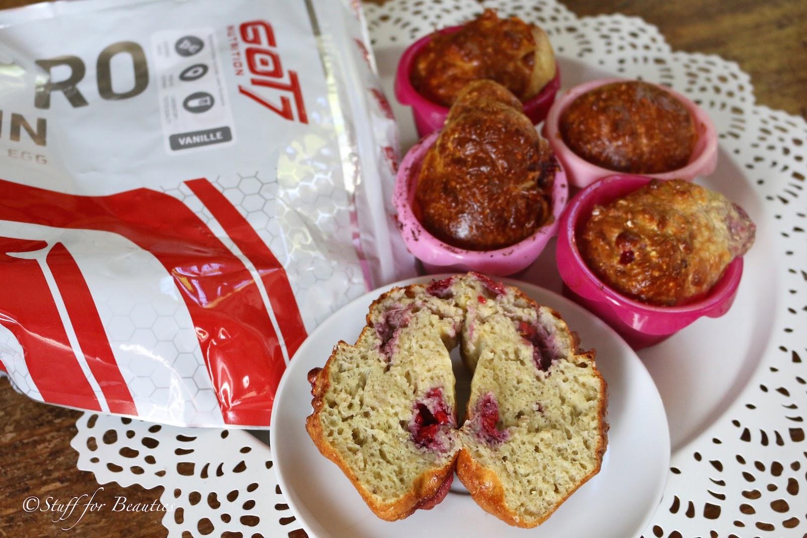 Rezept Die Besten Protein Muffins Himbeer Vanille Mrs Super Sophia