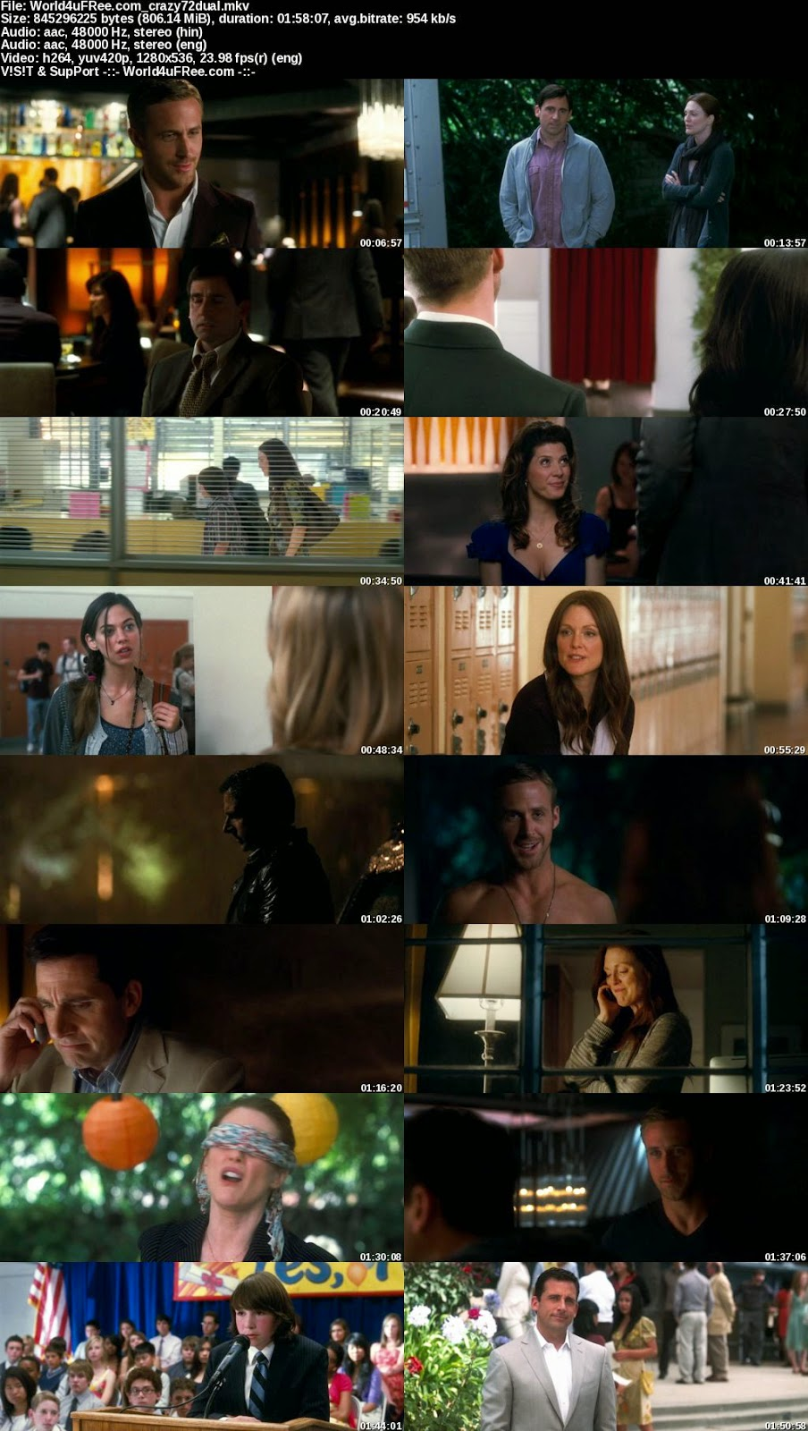 Subtitles for Movie: Crazy, Stupid, Love 2011