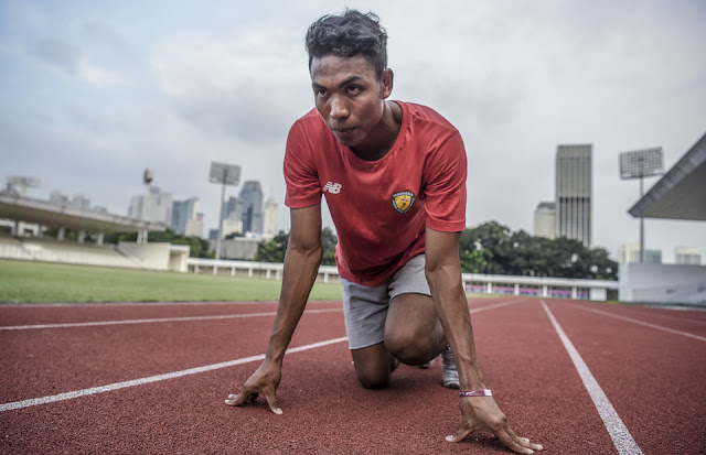 Lalu Muhammad Zohri lolos Olimpiade 2020 Tokyo.