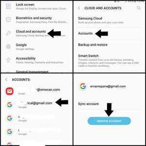Cara menghilangkan akun autentikasi google play store