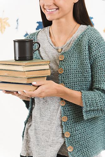 sweter szydełkowy z opisem