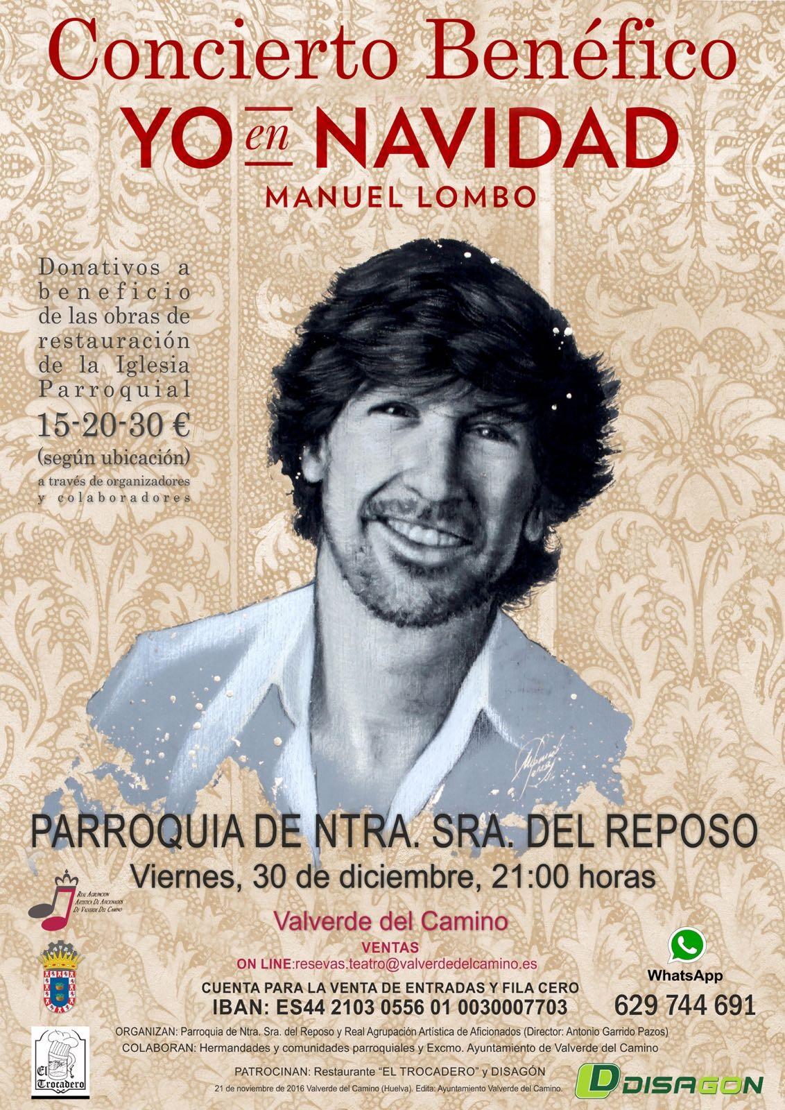Concierto Manuel Lombo