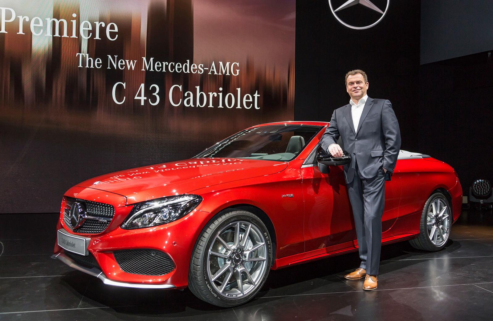 Mercedes-AMG C 43 4Matic Cabriolet 2017