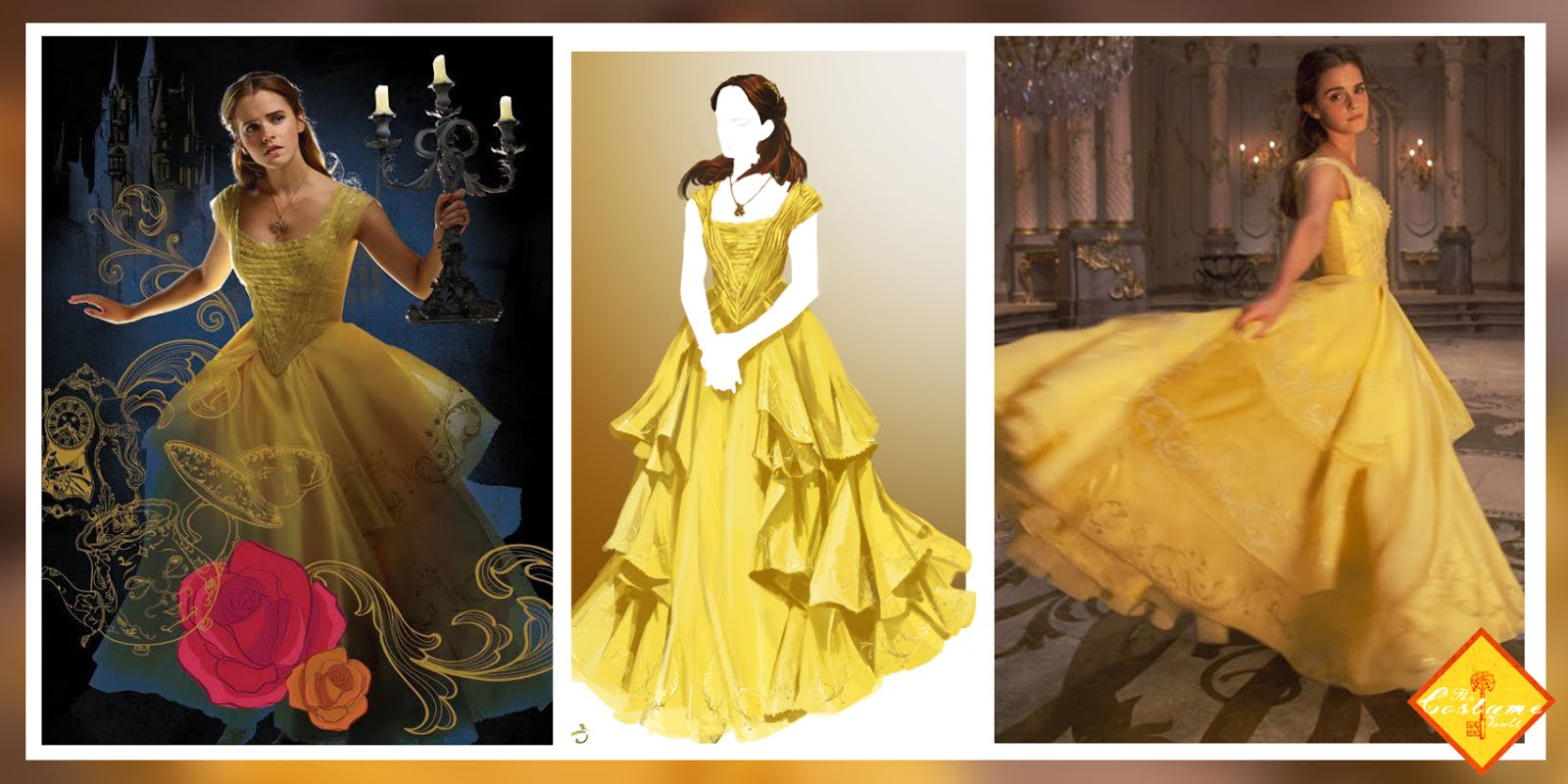Burning Question What S Wrong With Belle S Gown