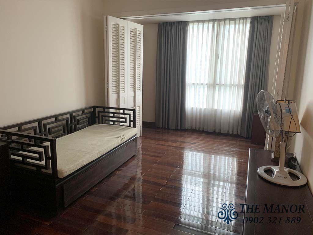 phòng ngủ 3 căn hộ the manor 167m2 cho thuê