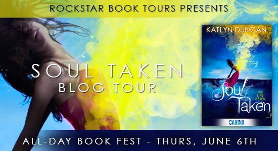 Book Blast: Soul Taken by Katlyn Duncan *Exceprt, Guest Post & Giveaway*