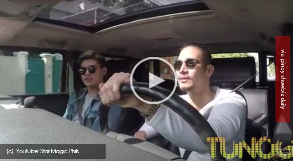 "You gotta watch this father and son bonding of Piolo Pascual and son Iñigo singing ""Closer"""