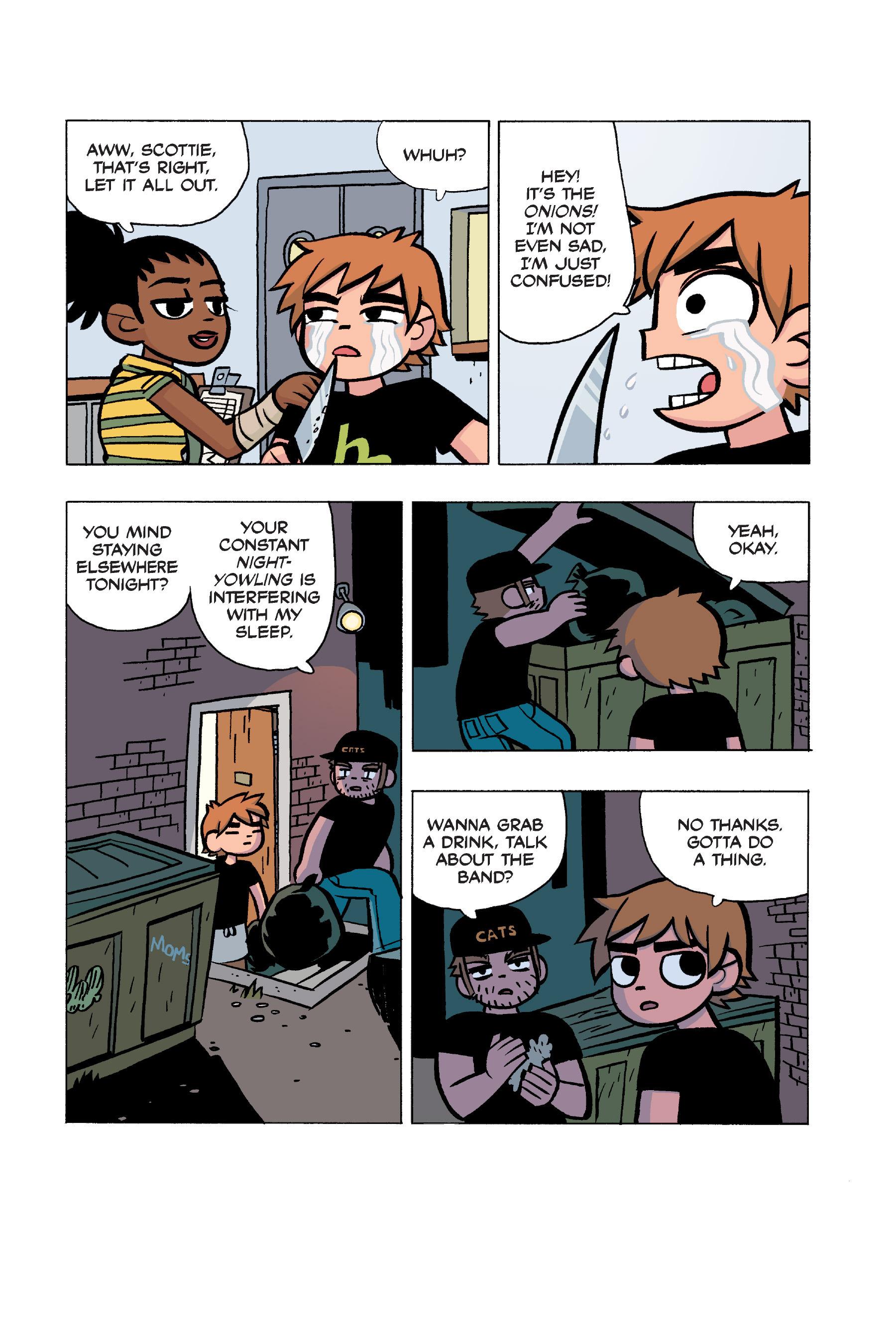 Read online Scott Pilgrim comic -  Issue #5 - 150