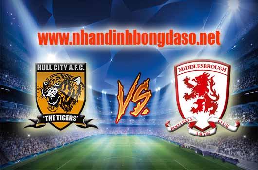 Nhận định bóng đá Hull City vs Middlesbrough, 01h45 ngày 06/04