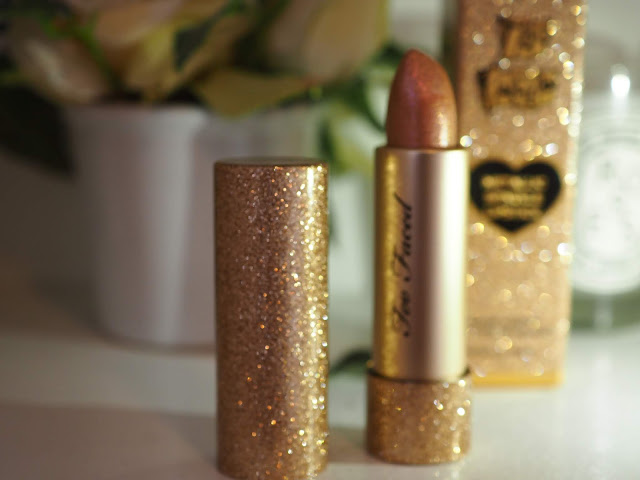 TOO FACED 20th Anniversary Collection Metallic Sparkle Lipstick